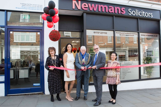 Newmans Solicitors Reigate opening