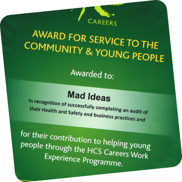 MAD Ideas HCS award