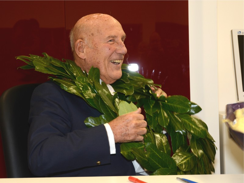 Business launch with Sir Stirling Moss