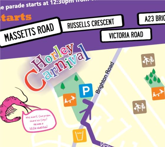 Horley Carnival, Reigate brochure