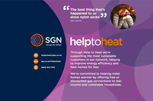 SGN Help To Heat campaign