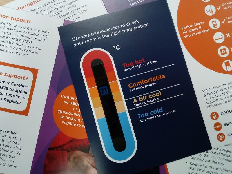 Marketing & brochure design, SGN Gas Networks