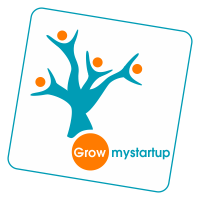 Grow MyStartup logo design