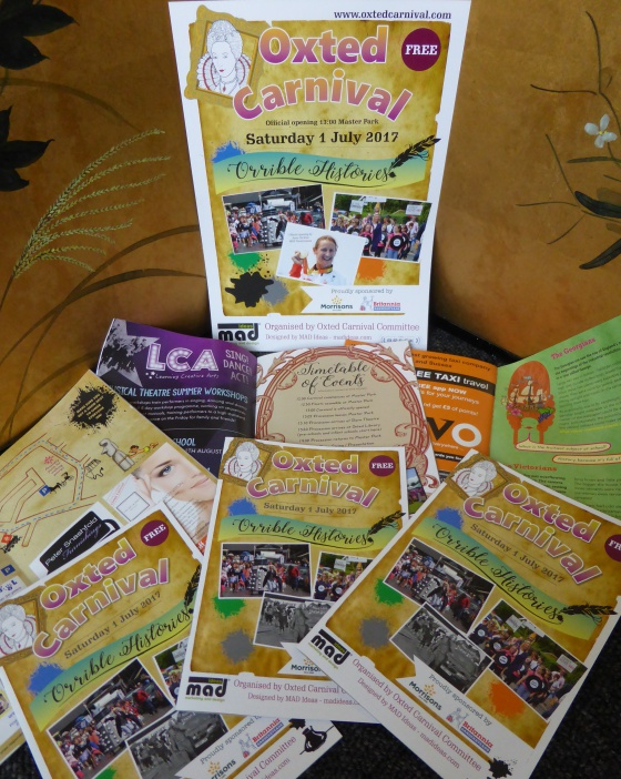 Oxted Carnival brochure