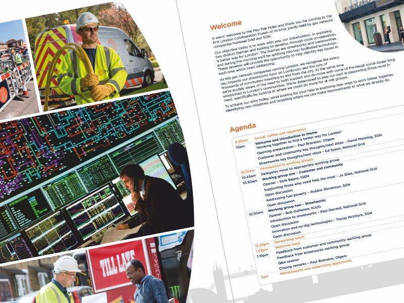Brochure design: London Collaboration Forum