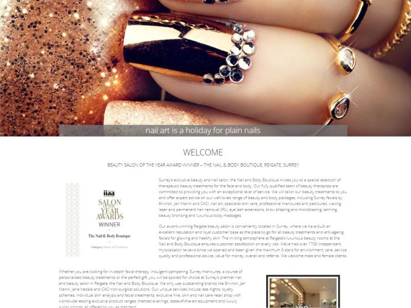 nails website