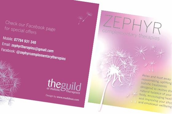 Zephyr marketing materials
