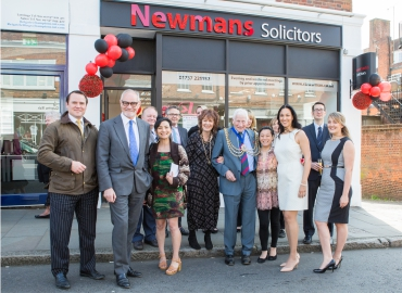 Newmans Solicitors opening