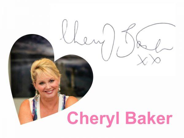cheryl baker autograph