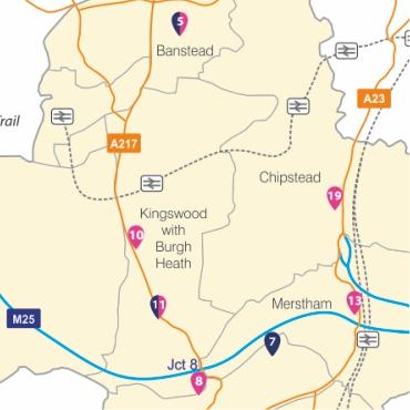 Horley map