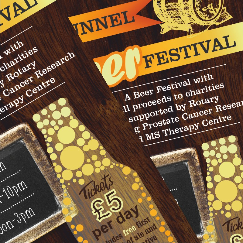 Beer Festival marketing materials