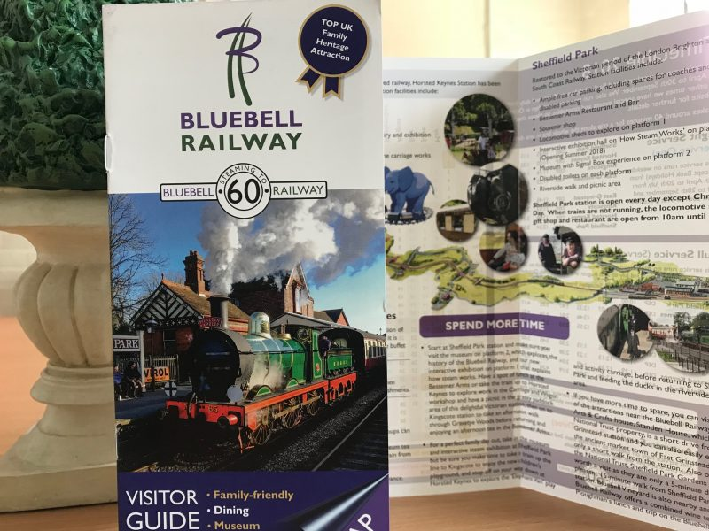 bluebell railway brochure