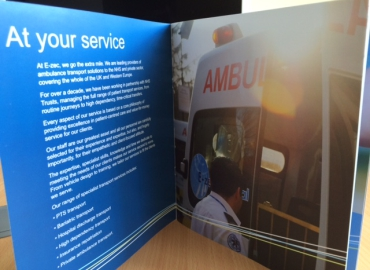 Ezec Medical Transport NHS provider brochure