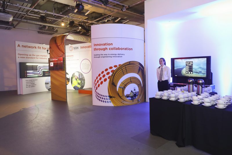 trade show exhibition stand london