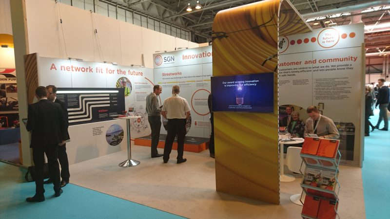 trade show exhibition stand design london